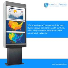 Take advantage of our approved standard #DigitalSignage solutions or, with our help, add a new, individual application to the ones that already exist. #TucanaGlobalTechnology #Manufacturer #HongKong