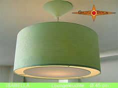 Lamp ISABELLA Ø 45 cm pendant lamp with light edge by GruzdzBerlin, €129.90