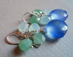 Hydrangea Heaven Earrings https://www.etsy.com/listing/105369061/hydrangea-heaven-earrings by Sueanne Shirzay