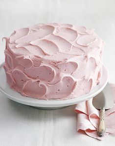 Every year for my birthday my mother would make me angel food cake with pink marshmallow icing.