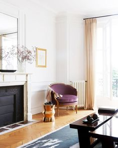 Outstanding modern french country decor are offered on our internet site. Take a look and you wont be sorry you did. French Country Rug, French Country Bedrooms, French Country Living Room, French Country Decorating, French Style, French Chic, Living Room Drapes, Living Rooms, Living Spaces