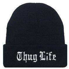 Thug Life Gangsta Beanies. Unisex FashionFashion WomenWinter HatsWinter ... 766293099