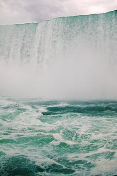 Niagara Falls. Lovely. Gorgeous in the summer or winter. I have seen it both times of year, and it is incredible.  Everyone should see it at least once.