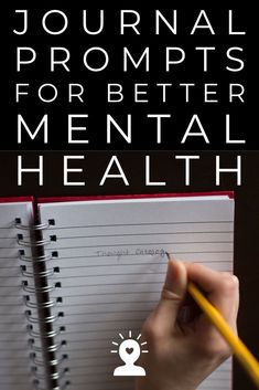 Health Motivation 50 Journal Prompts For Mental Health Mental Health Journal, Good Mental Health, Mental Health Questions, Cortisol, Journal Prompts, Writing Prompts, Diary Writing, Journal Entries, Writing Tips