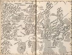 Map of Shannara.