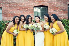 Shop the best bridesmaid dresses by Jenny Yoo, Watters, Sorella Vita and many more. Meet your free style consultant and try on bridesmaid dresses at home. Yellow Bridesmaid Dresses, Wedding Dresses, Canary Yellow Dress, Diy Photo Booth, Yellow Fashion, Yellow Wedding, California Wedding, Real Weddings, Yellow Style