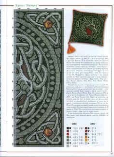 Celtic Dragon cross stitch - Part 2