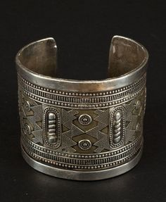 Kazakistan | Silver and gold foil bracelet | ca. 1st half of the 20th century | 450€ ~ Sold
