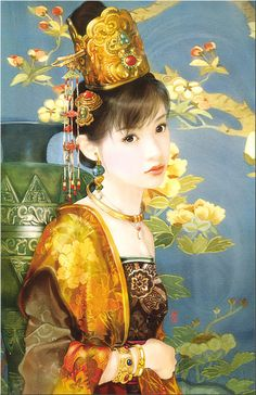 Chinese Beauty by Der Jen (Dezhen) http://avaxnews.net/appealing/Chinese_Beauty_by_Der_Jen_Dezhen.html
