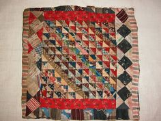 c.1890's doll quilt