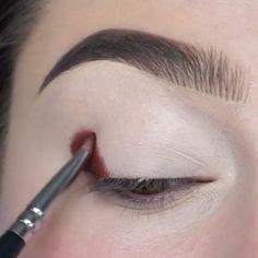 Makeup Eye Looks, Eye Makeup Steps, Eye Makeup Art, Eyeshadow Makeup, Makeup Tips, Indian Eye Makeup, Makeup Hacks, Makeup Geek, Makeup Cosmetics