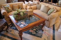 Look how lovely this #sofa & #cocktailtable is! The #pattern on the #fabric is gorgeous! #InteriorDesign #Consignment #NJBusiness #HomeDecor #Decor #Furniture #LuxuryFurniture #LuxuryHomes  #Shop to support #domesticviolence victims! #GloriaFoundation For more information visit www.DesignConsignNJ.com
