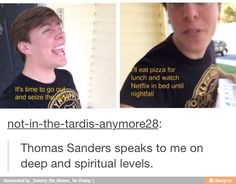 thomas sanders understands