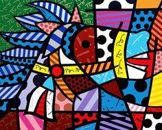 paris-art-web-painting-romero-britto-original-cavalo-cavalo-2002-48x60.jpg (676×545)