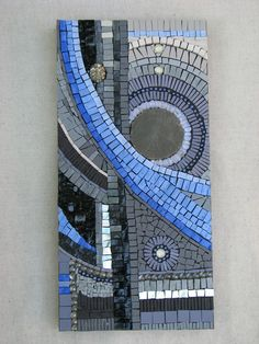 abstract by thenatureofmosaic. Mosaic Tile Art, Mosaic Pots, Mosaic Artwork, Mirror Mosaic, Mosaic Diy, Mosaic Garden, Mosaic Crafts, Mosaic Projects, Mosaic Glass