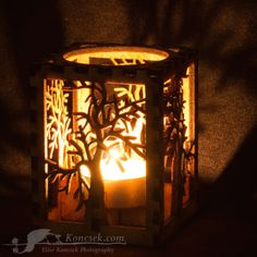 Winter Tree tea light luminary https://www.etsy.com/shop/EliseKoncsek?section_id=14559707