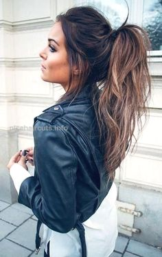 Messy High Ponytail Hairstyles… Messy High Ponytail Hairstyles http://www.nicehaircuts.info/2017/06/11/messy-high-ponytail-hairstyles/