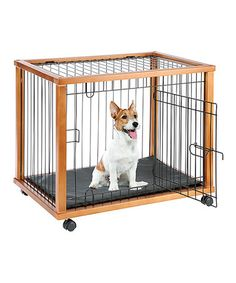 Look what I found on #zulily! Mobile Pet Pen #zulilyfinds