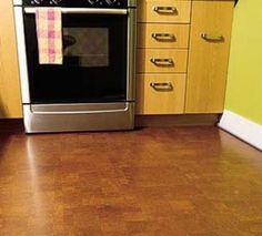 Love This Colour Of Cork Flooring Fo Rthe Kitchen