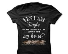 Top Horse T Shirts with Funny Sayings~ https://tackk.com/tophorsetshirtswithfunnysayings