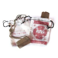 Beard Buddy - Dog Tag Comb Necklace - AWESOME :D