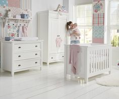 babykamer malibu van het merk interbaby | babykamers (ons, Deco ideeën