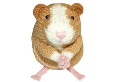 Ravelry: Cuy peruano o guinea pig pattern by Esperanza Rosas . Love Knitting, Knitting Club, Guinea Pig Toys, Guinea Pigs, Diy Crochet Patterns, Knitting Patterns, Knitted Dolls, Crochet Toys, Little Cotton Rabbits