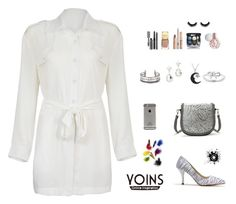 """""""yoins #29"""" by bsenid ❤ liked on Polyvore featuring Jewel Exclusive, Kobelli, Bobbi Brown Cosmetics and Chanel"""