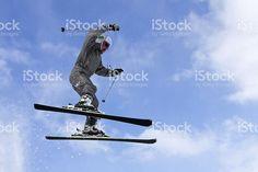 Effrayant saut photo libre de droits