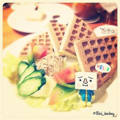 #toy #tofu #tofuoyako #devilrobots #cute #taipei #taiwan #japan #sis #豆腐人 #親子豆腐 #トーフ親子 #摩比人 #playmobil #プレイモービル