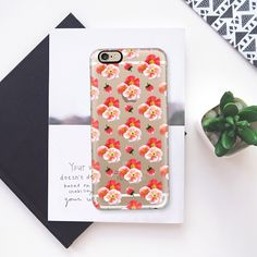 Poppy Clusters - Classic Snap Case