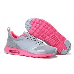 a232a4666e Women Nike Air Max 87 V2 Light_gray Pink Cheap Nike Running Shoes, Nike  Shoes For
