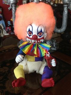 clown baby... omg my girls would totally hate me for this one. lol