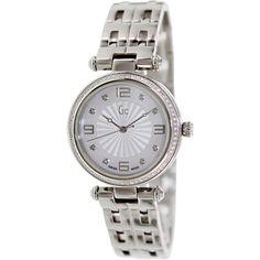 Guess Women's X17110L1S Silver Stainless-Steel Swiss Quartz Watch