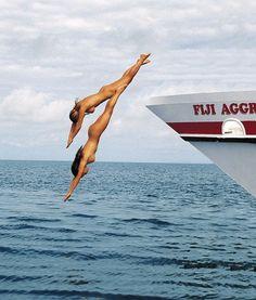 Skinny diving