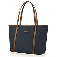 9784b04e03b54 CHICECO Nylon Arbeit Shopper Tasche Handtasche Damen - Schwarz  Amazon.de   Koffer