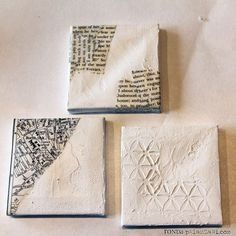 Things To Do With Mini Canvases! Great Handmade Gift For Christmas👍🏻👍🏻Make mini canvas ornamentsMelt crayons on one. Could be very messy with a small one so be sure to cover your working area with newspaper or cardboard.Bedazzle a canvasPaint scenery if you can handle the tiny paint brushes and working space (or even like this set up an art studio in a doll house)Or make a collage for someoneI love this idea! But maybe would be good for people who dont have a boring state (in example…
