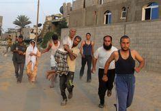 Gaza bloodshed deepens, airlines shun Israel-