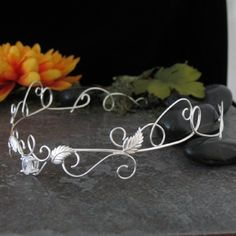 Renaissance Elven inspired Wedding Circlet  Bridal by Camias