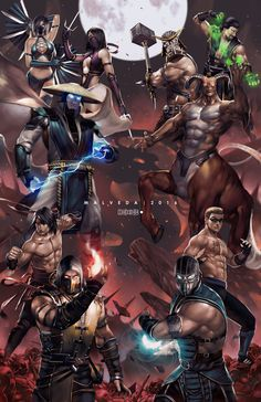Mortal Kombat by alex-malveda.deviantart.com on @DeviantArt