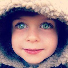 Rare Eye Color | rare eye color, baby blue-green