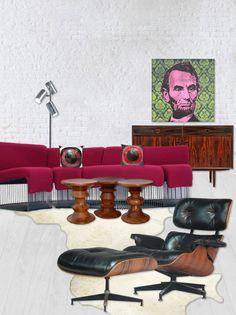 modern interior design mcm mid century danish decor