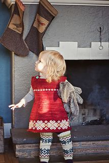 Anikka is a sleeveless jumper in two sizes that changes from dress to tunic to vest as your child grows from infant to toddler.