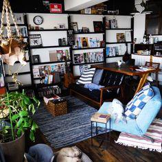 freelife_workさんの、部屋全体,DIY,リノベーション,男前インテリア,2×4材,収納アイデア,のお部屋写真