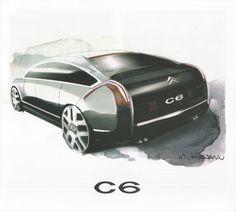 OG | 2005 Citroën C6 | Render