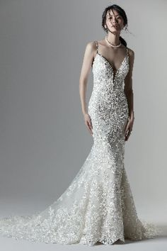 Christina Wedding dress by Sottero and Midgley Maggie Sottero, Sottero And Midgley Wedding Dresses, Shades Of White, White Bridal, Bridal Boutique, Bridal Collection, Bridal Style, Women Wear, Formal Dresses