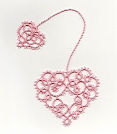 Tatted bookmark - Heart's Desire by AnniesGranny (design Susan K. Fuller)