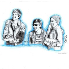 Drawn Scene From The Fault In Our Stars Movie