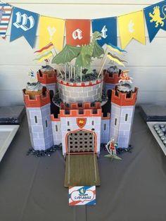 Meri meri brave knights birthday cake