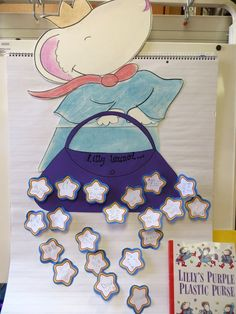 First Grade Wow: Lilly's Purple Plastic Purse